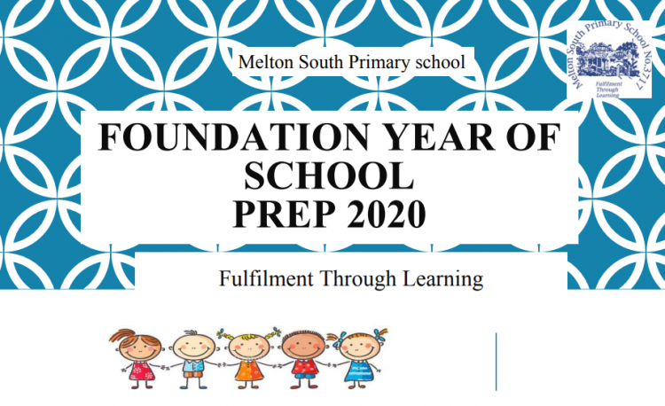 The first slide of a powerpoint presentation outlining the main features and processes of Melton South Primary School